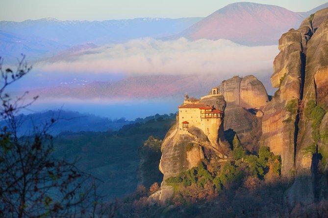 A TOUR OF ATHENS, SOUNIO, DELPHI & METEORA (see the monasteries) 3 day 2 nights