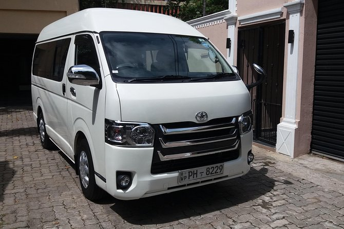 BI Airport to Colombo transfer - Private vehicle Car/ Van