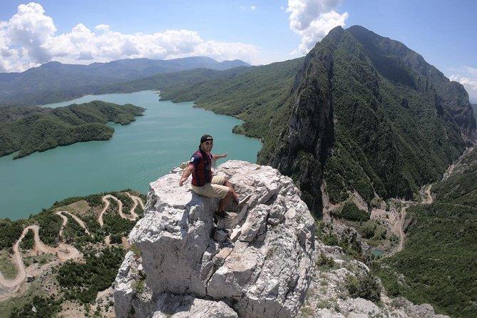Hiking day tour of Bovilla Lake from Tirana
