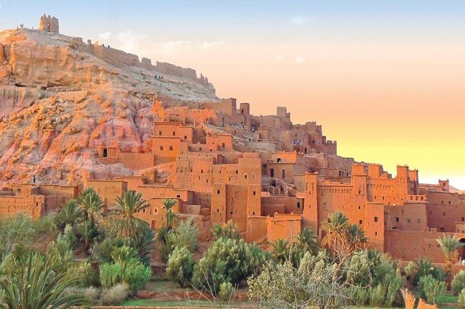 Full-Day Private Trip to Ouarzazat Ait Ben Haddou in Morocco.