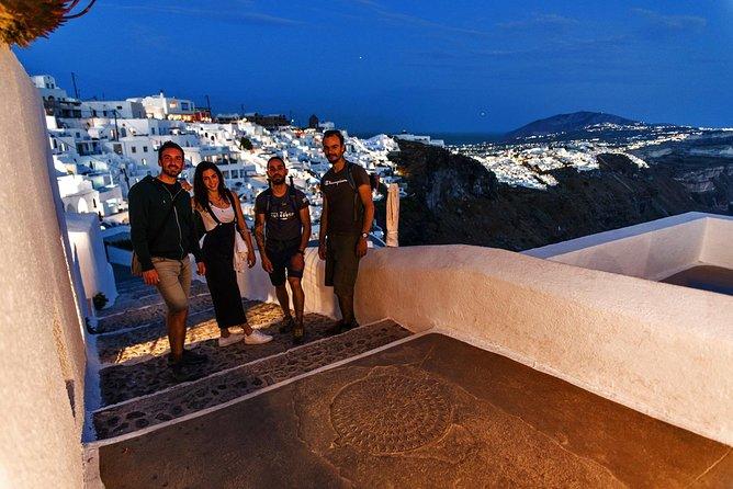 Santorini: Night Hike, vinsmaking og middag