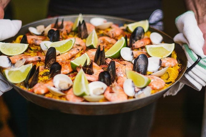 Fresh Paella Cooking Class & Lunch