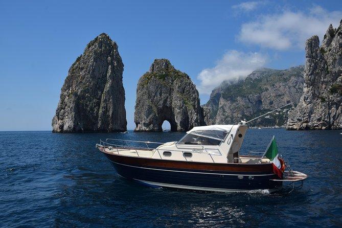 Full Day Capri Island Shore Excursion & Boat Tour