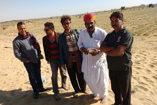 Super Star Irfan Khan Likes Overnight Camping safaris at remote desert organize By our company team leader chandra hosting them twice with his co star famous Hollywood actress Golshifteh Farahani .