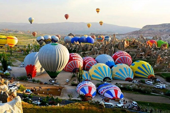 2 Days 1 Night Cappadocia Tour from Istanbul by Plane With Optional Balloon Ride