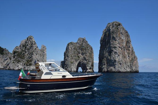 Private boat tour to Capri from Amalfi