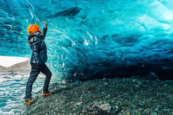 Crystal Blue Ice Cave - Super Jeep From Jökulsárlón Glacier Lagoon