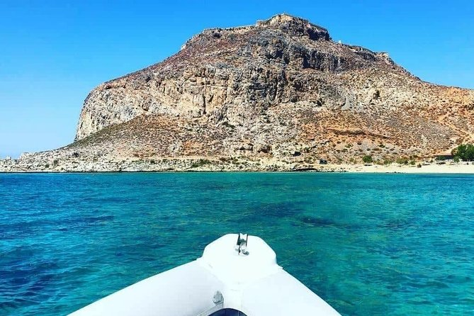 Private Boat Trip Kissamos Balos (price per group - up to 9 people)