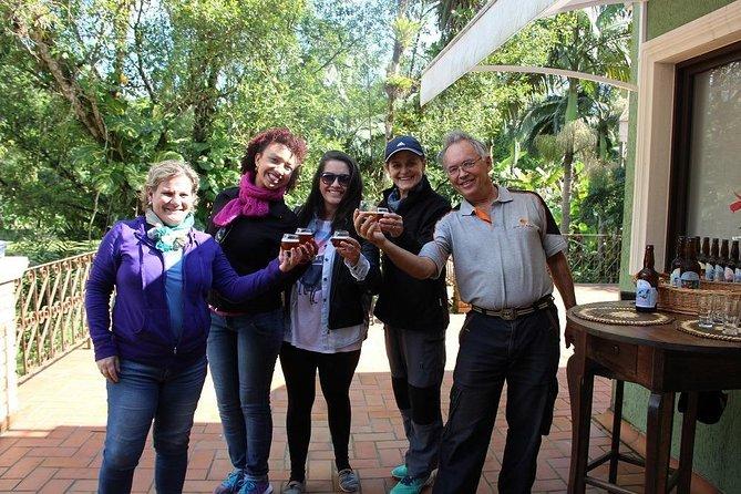 Vinho, Cerveja Artesanal e Cachaça: Tour na Serra do Mar partindo de Curitiba