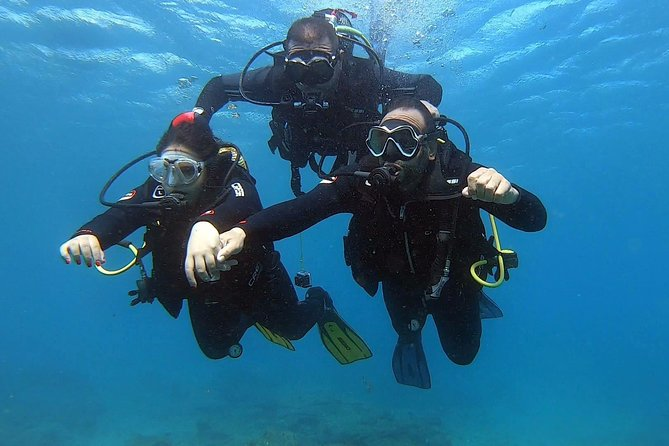 Diving baptism in the Arinaga Marine Reserve