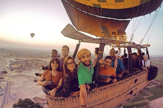 Luxury Hot Air Balloon ride over Luxor