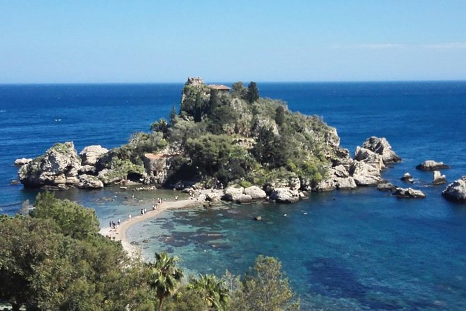 Taormina and Castelmola tour from Messina harbour