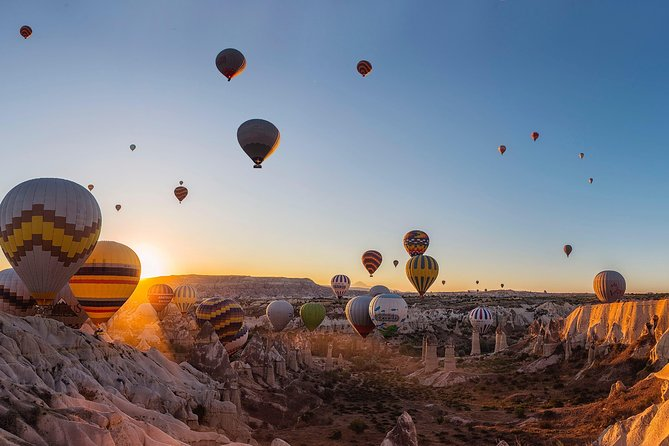 Hot Air Balloon Cappadocia (Hotel Transfer & Breakfast & Champagne)