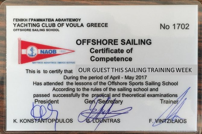 Sail Boat License together with Holidays in Greek islands! photo 6