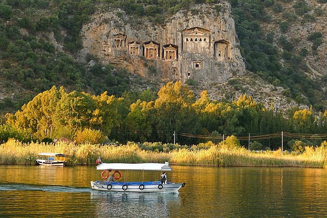 Explore Dalyan, King Tombs, Mud Bath and Turtle Beach from Fethiye