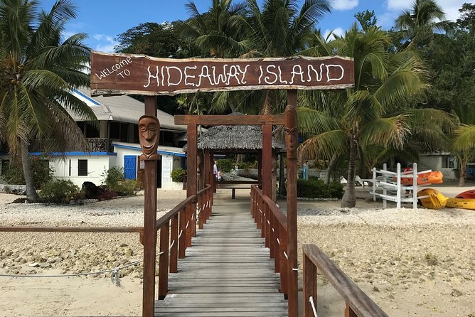 Hideaway Island Escape, Blue Lagoon and Turtle Experience