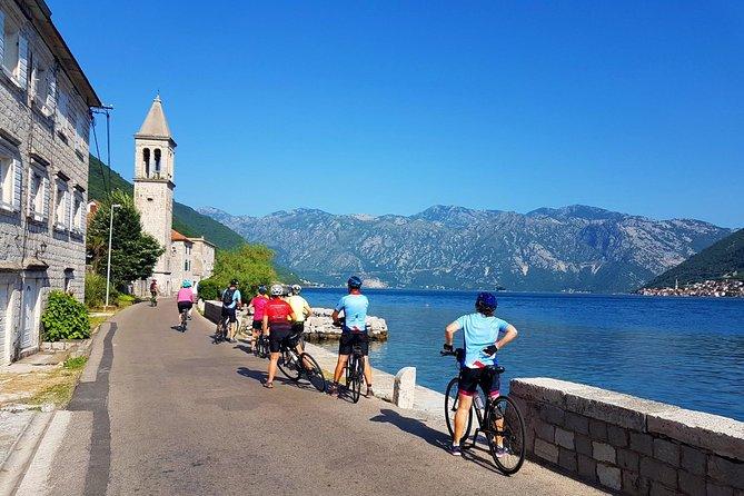 Cycling Kotor - Tivat bay around Vrmac
