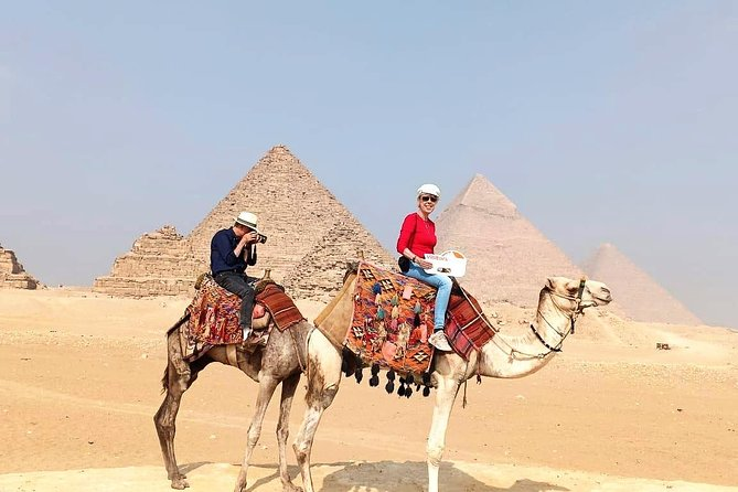 Camel Ride at the Pyramids Area