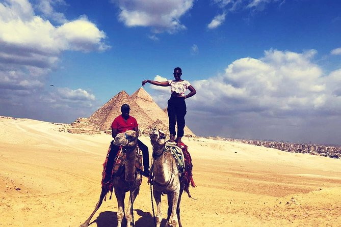 Camel Ride at the Pyramids Including BBQ Dinner