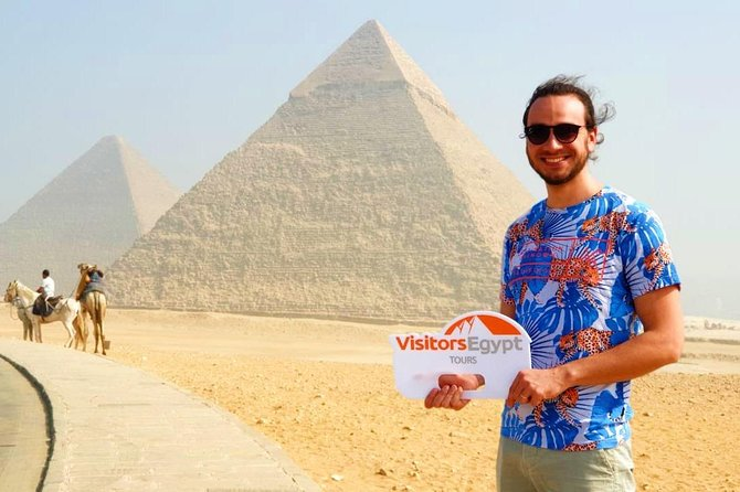 Private Half-Day Tour Pyramids of Giza and Sphinx photo 1
