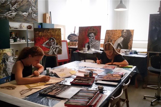 Art Class: Oil painting, Water color, Acrylic painting on Canvas or cotton paper