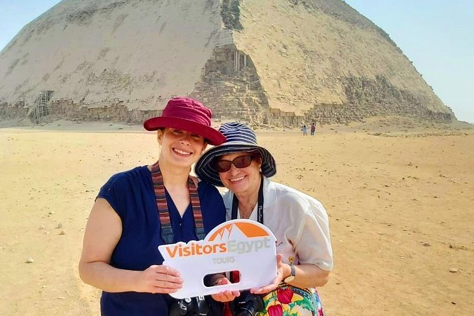Day Tour to the Pyramids of Giza, Sakkara, Dahshur, and Memphis from Cairo