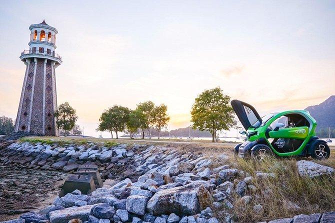 Half Day Nature Tour EcoRide with Twizy Electric Car: Sky Cab <-> Pantai Cenang