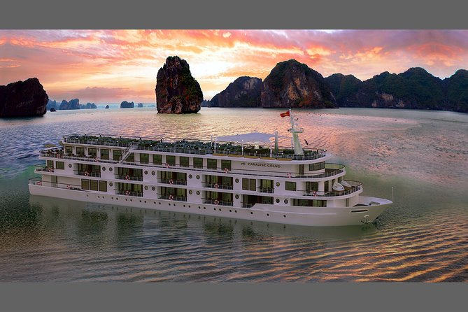 Paradise Grand cruise: 3Days 2 Nights Lan Ha Bay Tour