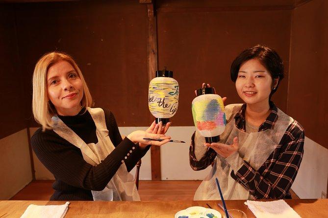 Mini Gifu lantern painting experience
