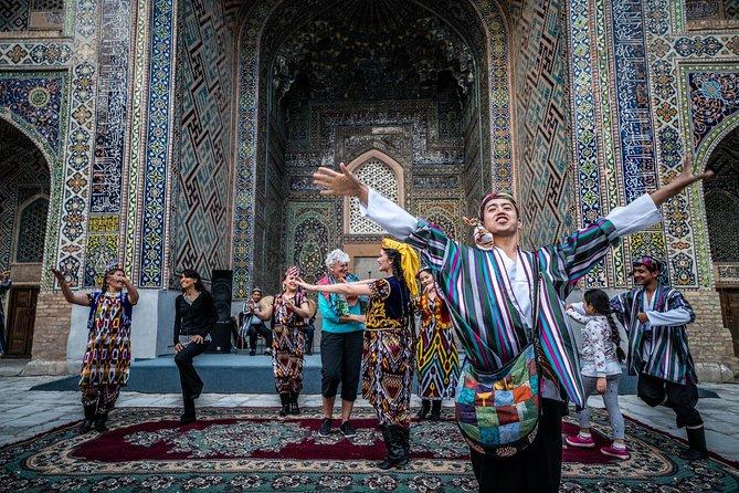 City tour in Samarkand