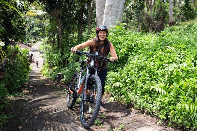 Bali Secret Cycling Tour Above Ubud, Jungle-Swing, Waterfall and Temple photo 16