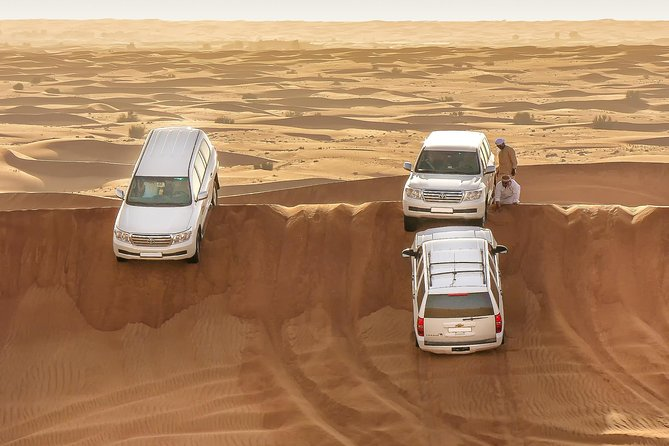 Desert Safari Tour with Barbecue Dinner & Belly Dance with Return Transfer (Sic)