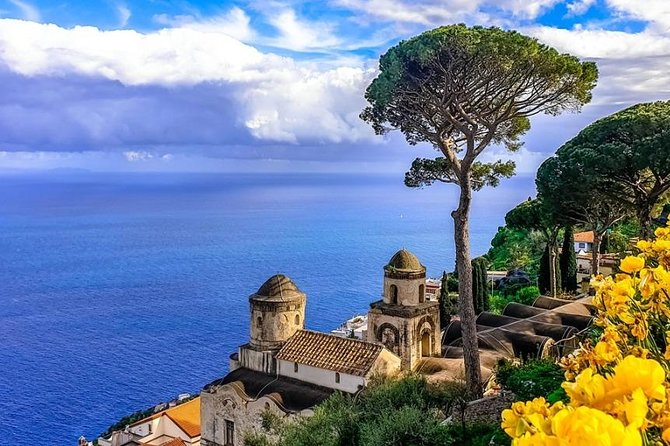 Visit of Amalfi and Ravello from Naples or Salerno