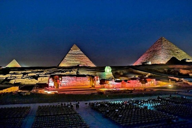 Sound and light Show at Pyramids and Sphinx area
