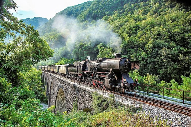 Bohinj Railway Steam Train Ride of the Alpine Region
