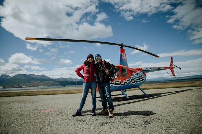 Helicopter flight: Ushuaia from the air - A7