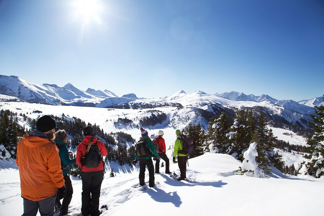Snowshoeing on Top of the World