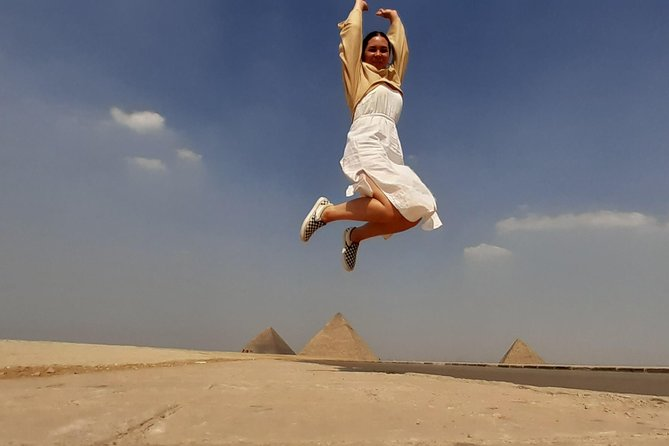 Half Day Tour To Giza Pyramids, Sphinx, Camel Ride And Lunch Included