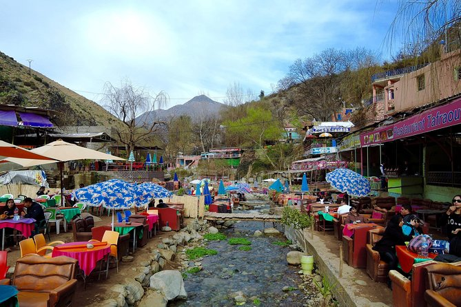 Full day trip to Ourika valley and High Atlas