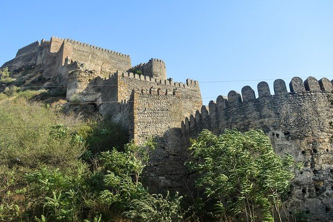 XIIl Century Castle and Cave city Fused with family winery and lunch