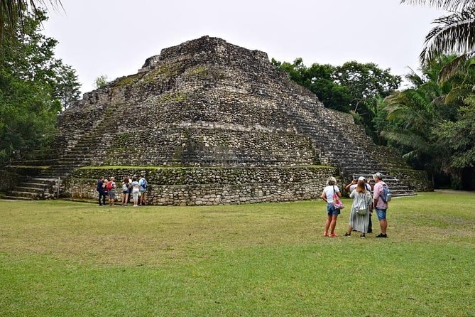 Chacchoben Mayan Ruins + Bacalar Seven Color Lagoon from Costa Maya