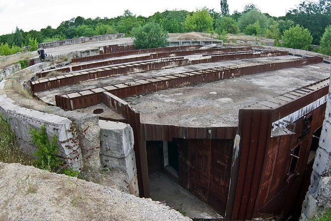 The giant abandoned nuclear bunker - the third biggest in USSR