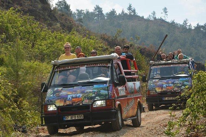 Sapadere Canyon & Dimcay River Cabrio Bus Safari Tour
