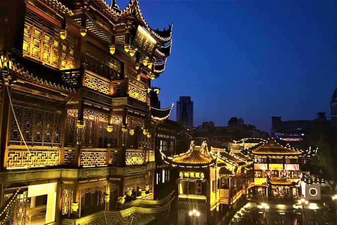 4 or 6 Hours Private Customized Shanghai City Night Tour (or Layover)