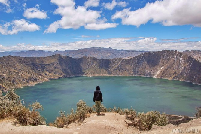 Private Full Day Quilotoa Lagoon Visit from Guayaquil