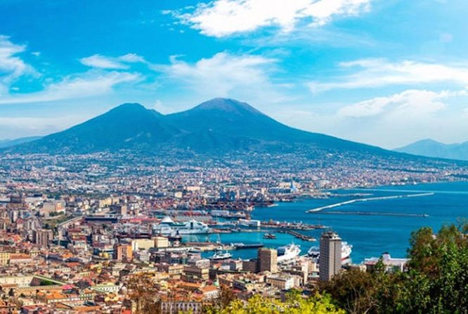 Naples, scenic tour of the city + SPA thermal baths. .