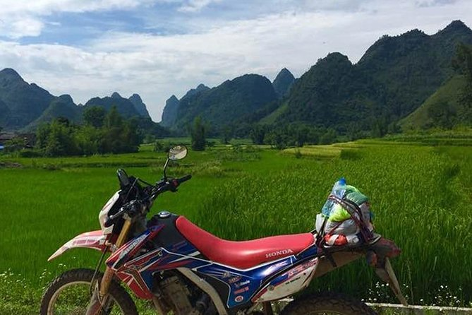 Motorcycle trip in North West Vietnam