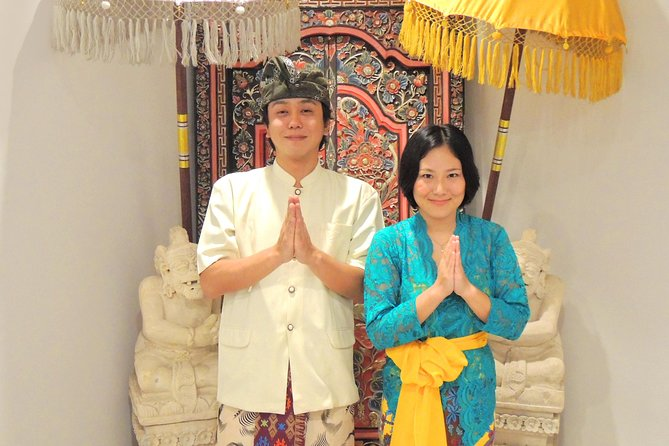 Balinese Traditional Daily Costume & Free 7 Days Mai Mai Shuttle
