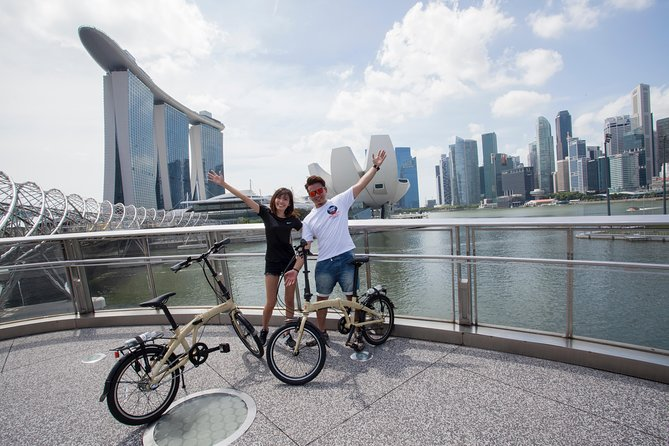 Scenic Bike Tour: Enchantment Of Marina Bay