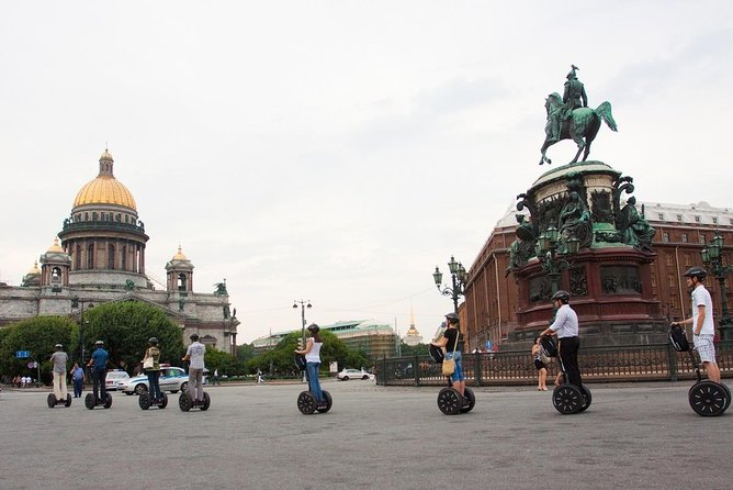 Join-in Segway Tour in St. Petersburg (2 hours)